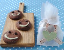 スマイルチョコクッキー