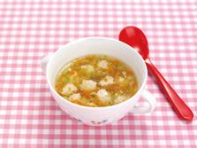 豆腐と鶏の団子スープ